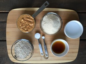 ingredients for peanut butter cookie