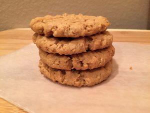 peanut butter cookies vegan and gluten free