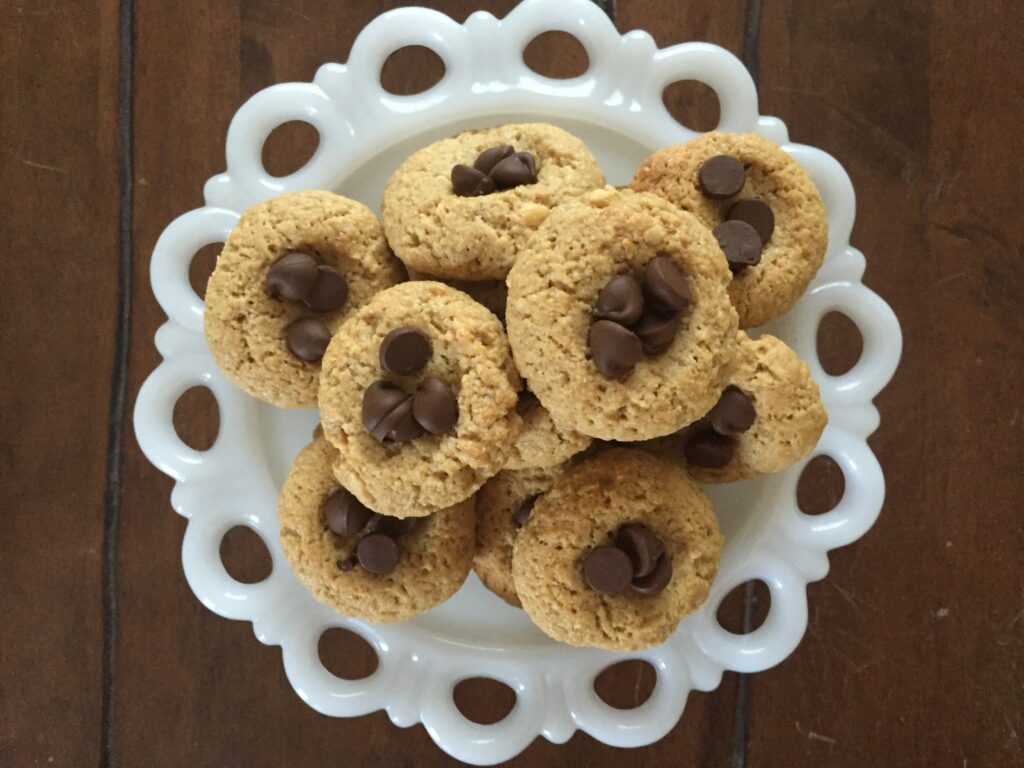 Peanut Butter Thumbprint Cookie