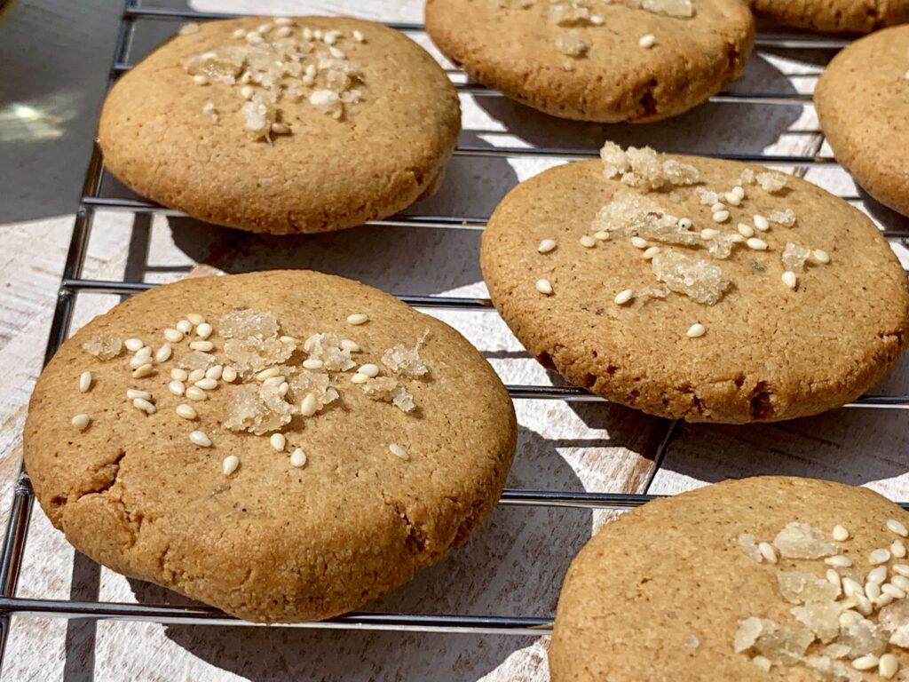 Ginger Tahini Cookie