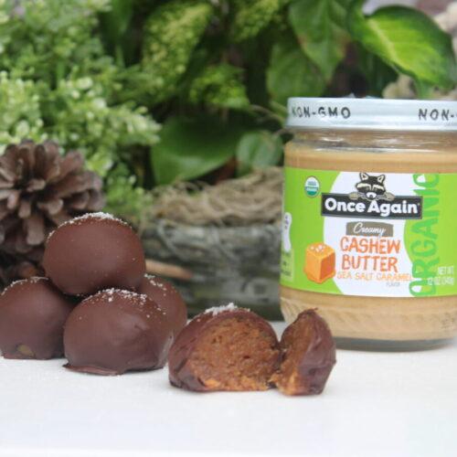 sea salt caramel truffles