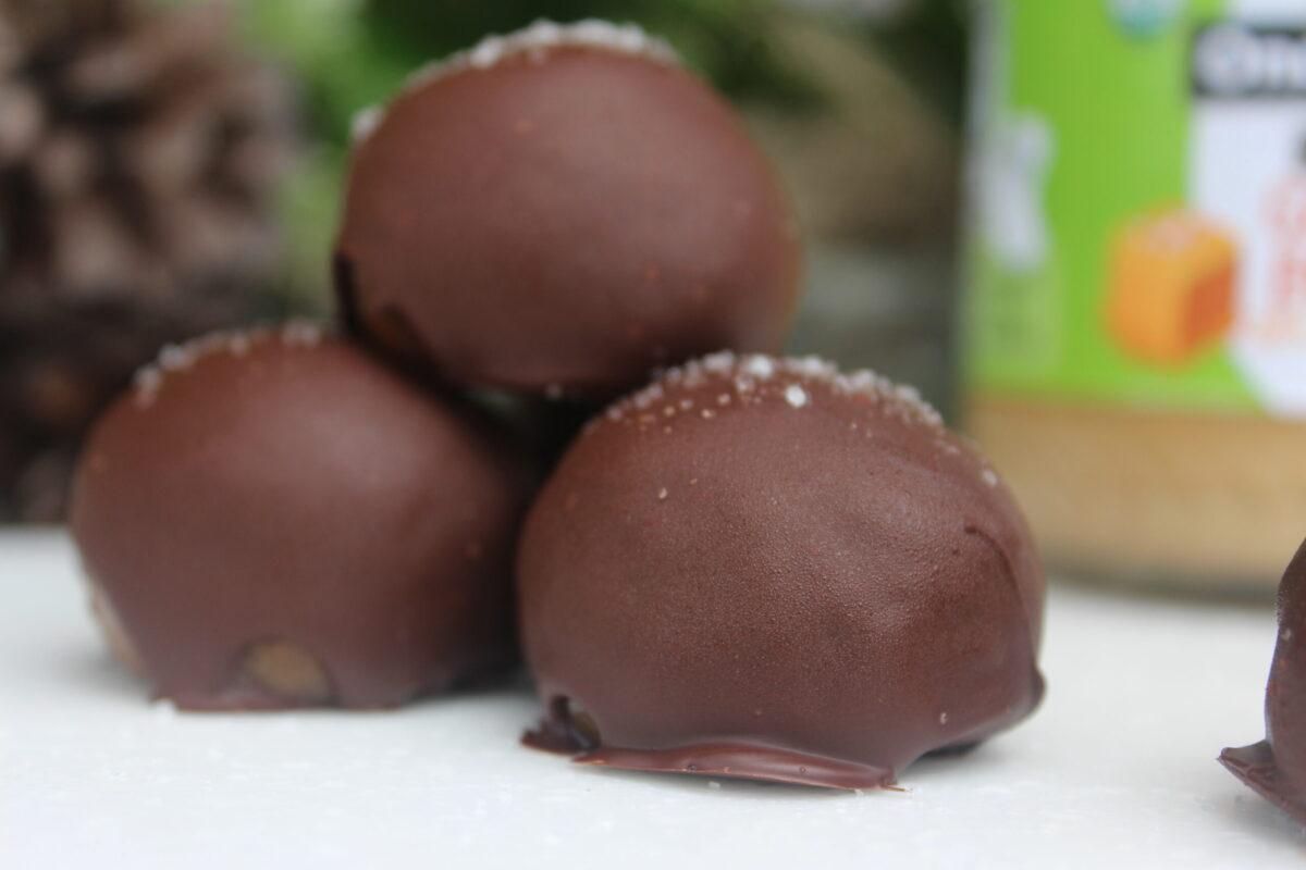 sea salt caramel truffle